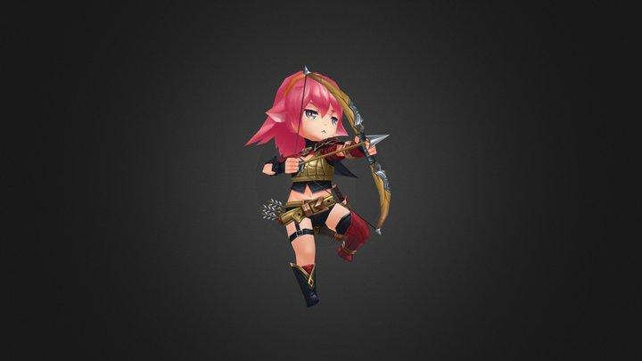 Archer 3D Model