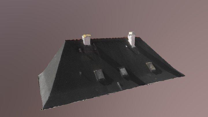 Modelisation toiture 3d Mesh 3D Model