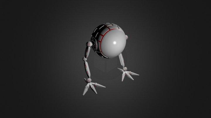 Bipède Model 3D Model
