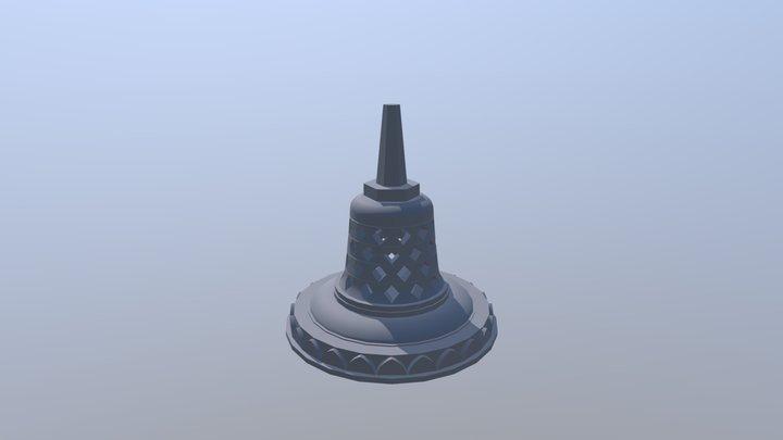 Stupa of Borobudur 3D Model