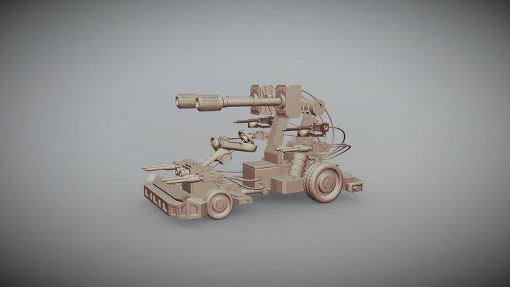 War car 3D Model