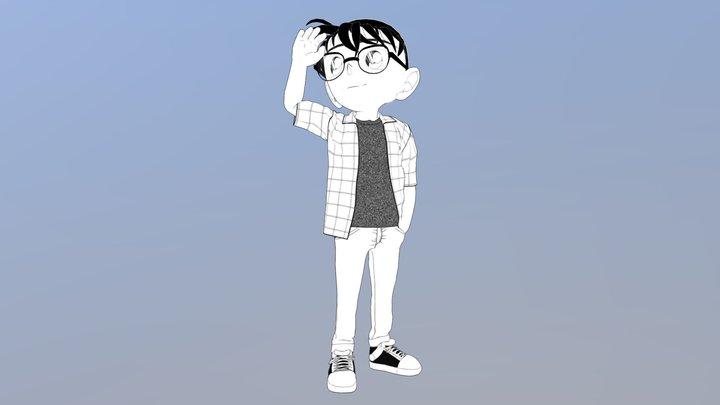 Conan Edogawa 3D Model