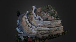Tarihi Aydos(Castle) Kalesi Istanbul 3d Model 3D Model