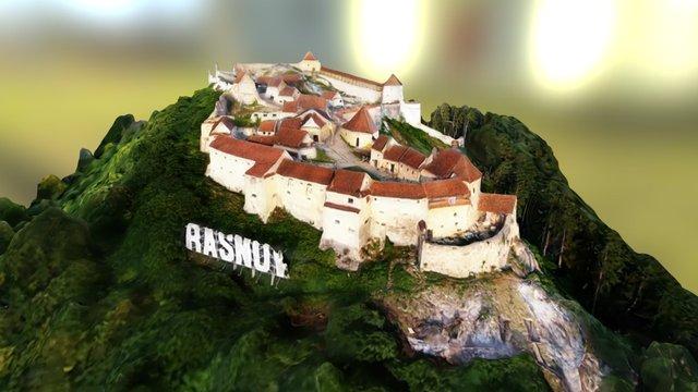 Cetatea Rasnov - Rasnov citadel - Romania 3D Model