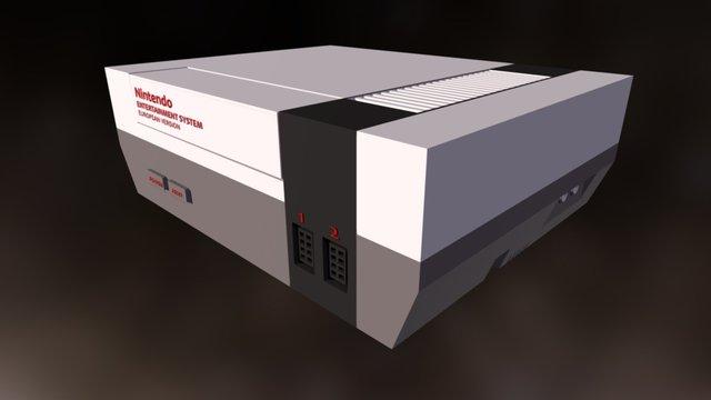 The NES 3D Model