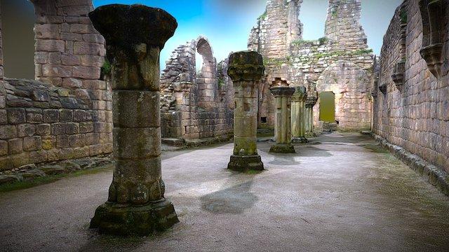 Ruins 1 (room) 3D Model