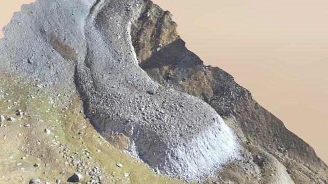 Les Cliosses Rock Glacier - Drone Photogrammetry 3D Model