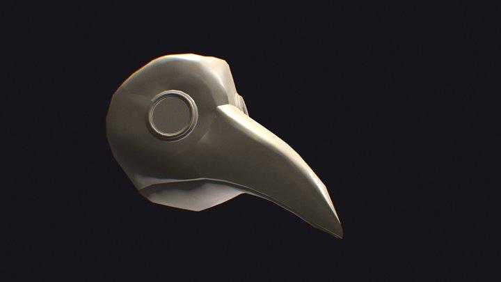 PlagueMaskBaseTest 3D Model