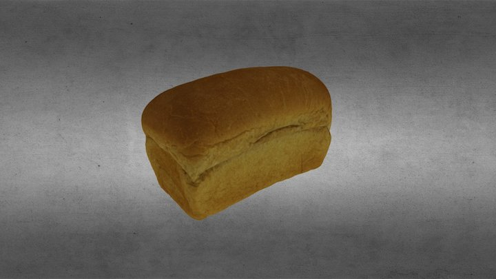 Bread Loaf scan 3D Model