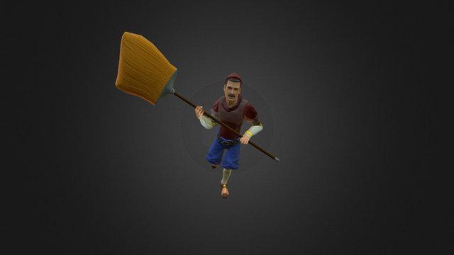 Freddy Animation (Run Weapon) 3D Model