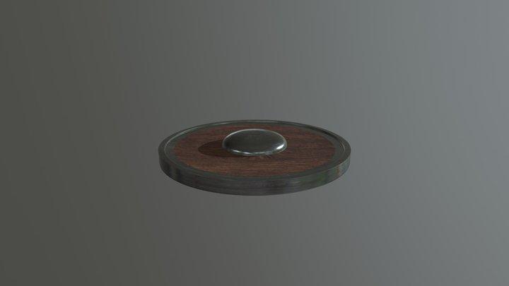 Circular Shield - Med Res 3D Model