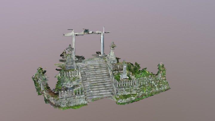 Entrance to Kigami Shrine 3D Model