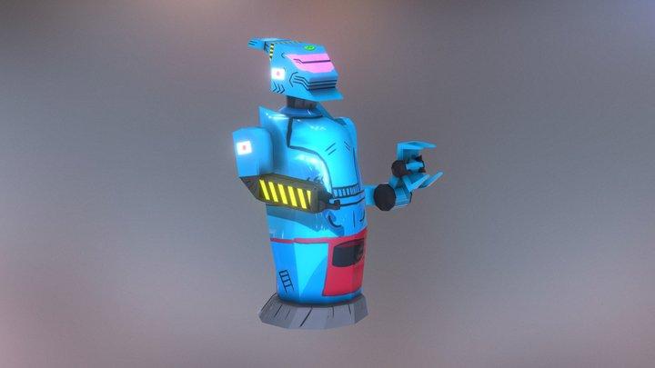 Ramen Chef Bot 3D Model