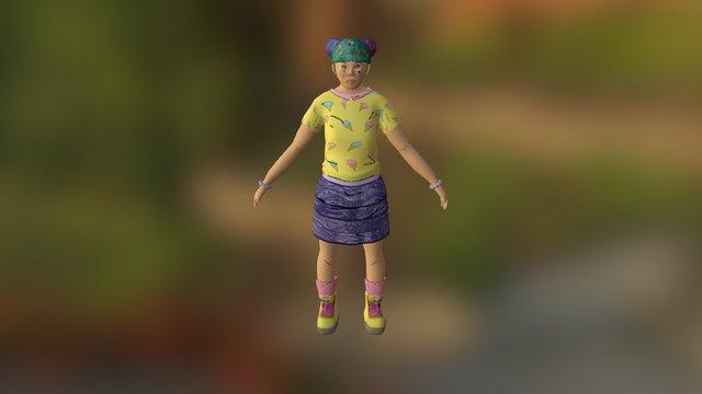 Dichotomy Character 3D Model