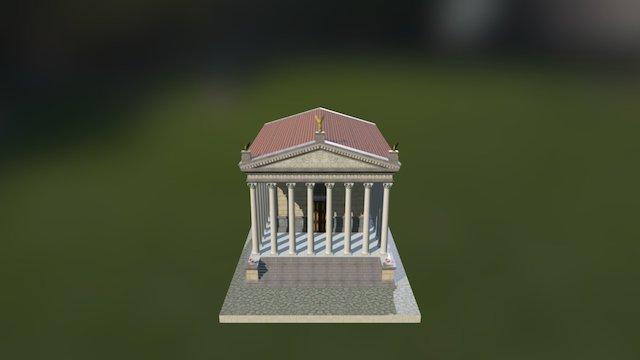 Tempio Corinzio 3D Model