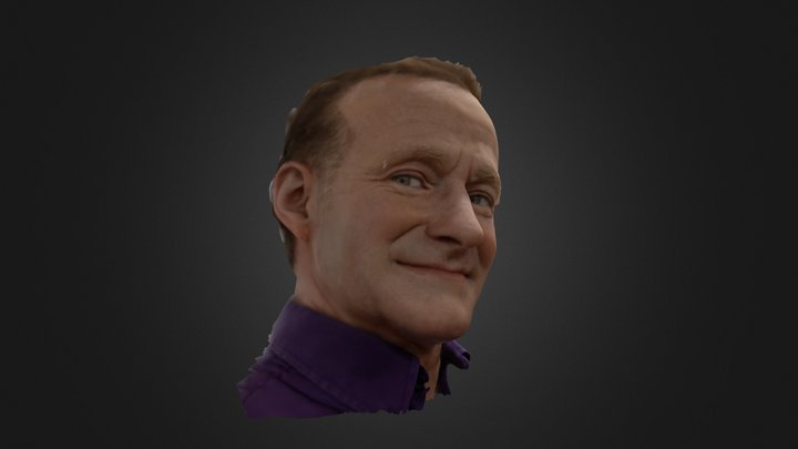 ROBIN WILLIAMS / MADAME TUSSAUDS WAX MUSSEUM 3D Model