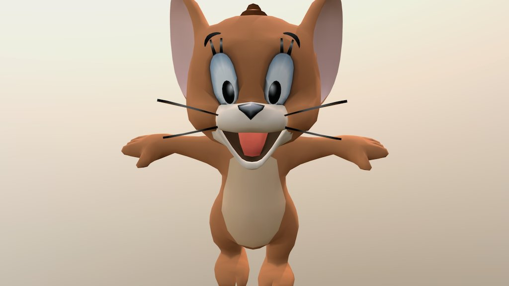 Tom And Jerry A 3d Model Collection By Lenzoapp Lenzoapp Sketchfab