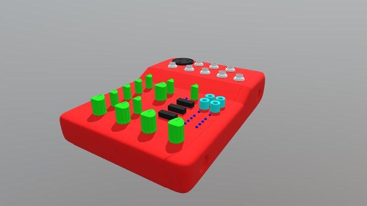 AI Interface UVW 3D Model