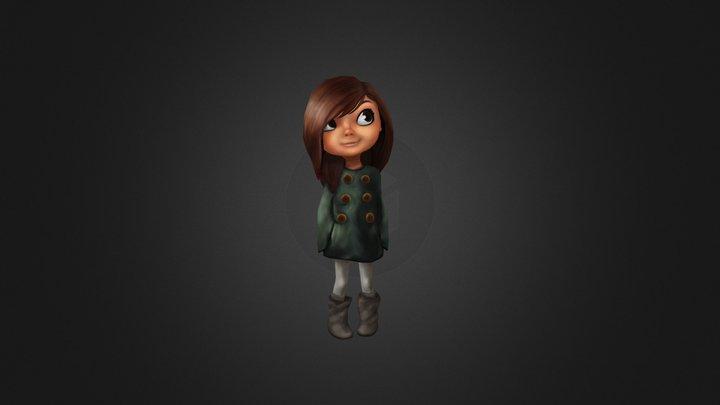 Tiny Girl  3D Model