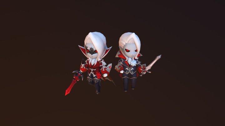 Vampirus 3D Model