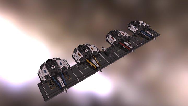 Wyvern Fighter Pack 3D Model