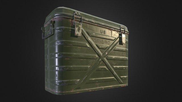 Military Cooler 3D Model