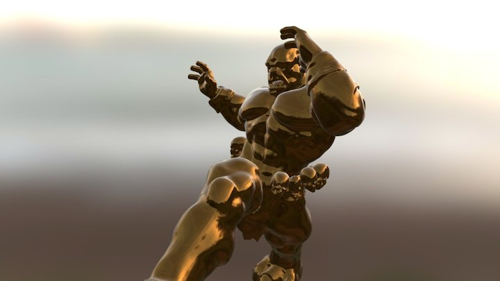 Trowphy 3D Model