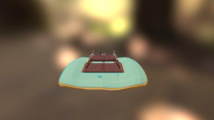 Kakamora Chief 3D Model