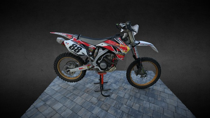 YAMAHA YZ250F 3D Model