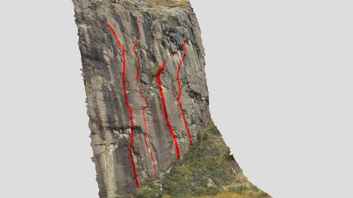 Bajo Hondo, sección Derecha. 3D Model