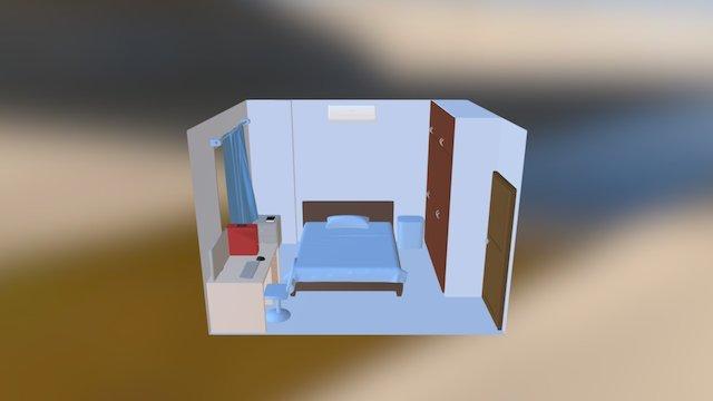Dormitorio 3D Model
