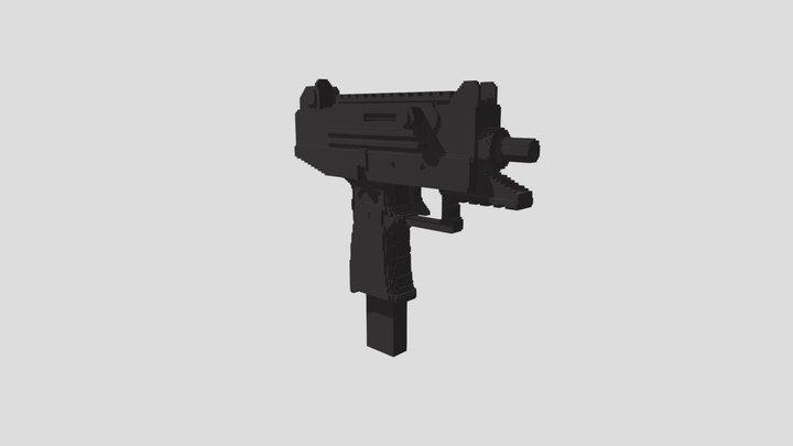 9mm Uzi 3D Model