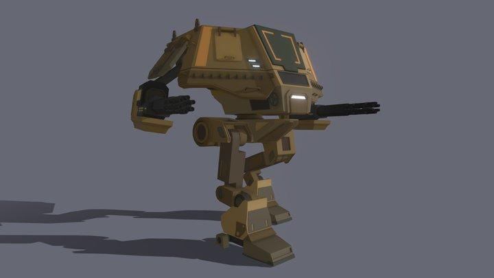 Wolverine Mk. II 3D Model