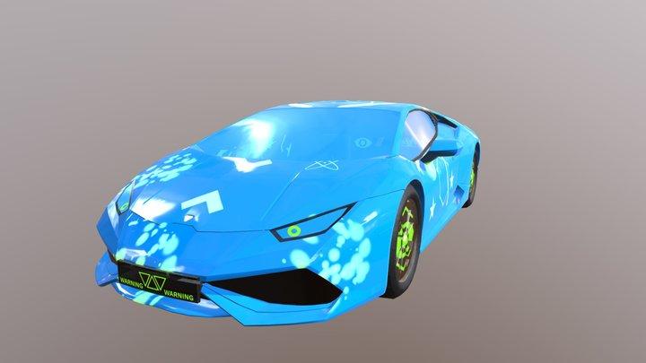 Lamborghini Huracan - Vehicle 3D Model