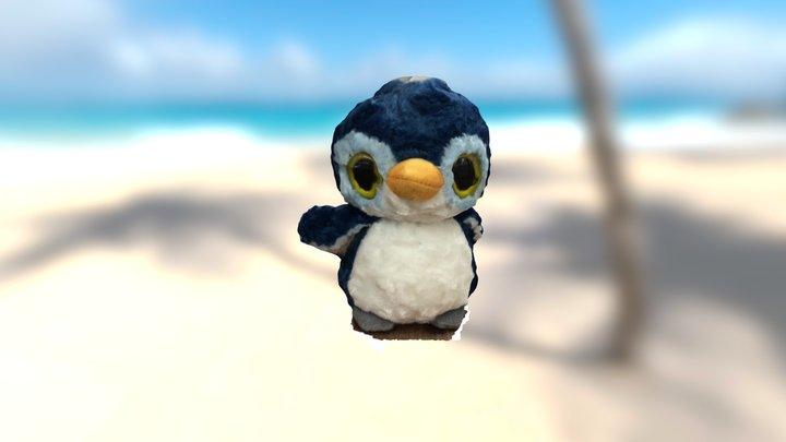 Penguin in Autodesk Memento 3D Model