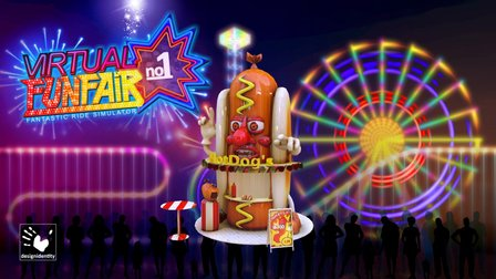 Virtual-FunFair - HotDog-Man 3D Model