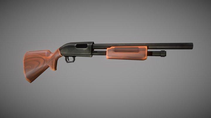 Sentinels of Freedom - Basic Shotgun 3D Model