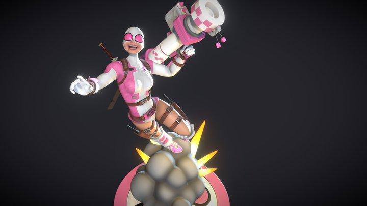 Gwenpool 3D Model