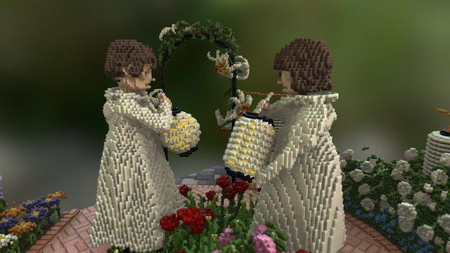 Carnation Lilly Lilly Rose 3D Model