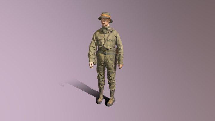 DCLI jungle uniform 3D Model