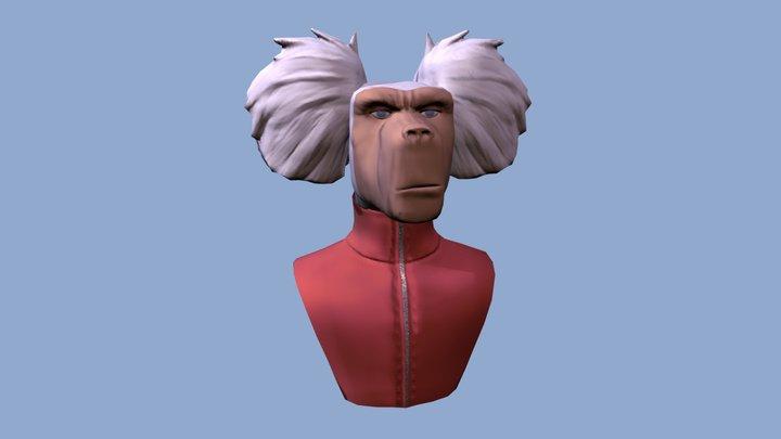 Koteri Ink's Character Hamed 3D Model