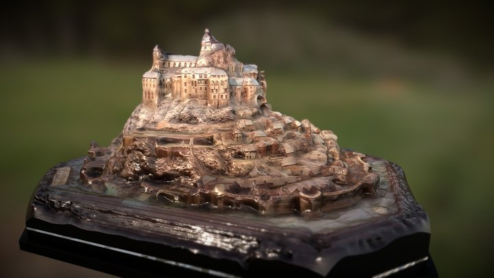 Mont Sait Michel 1701 3D Model