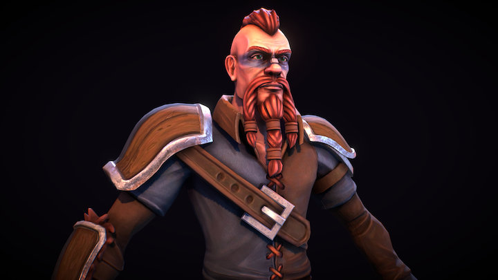 Viking - Game Ready Character 3D Model