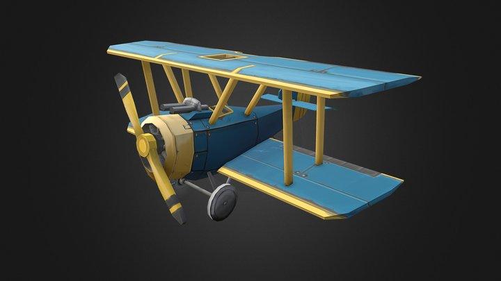 LowPolyPlane 3D Model