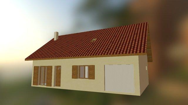 Projet OY-FOUR : maison existante 3D Model