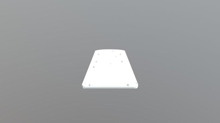Left Side Panel for Star Trek Tricorer 3D Model