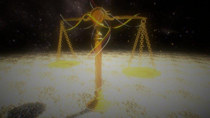 Libra the Balance 3D Model