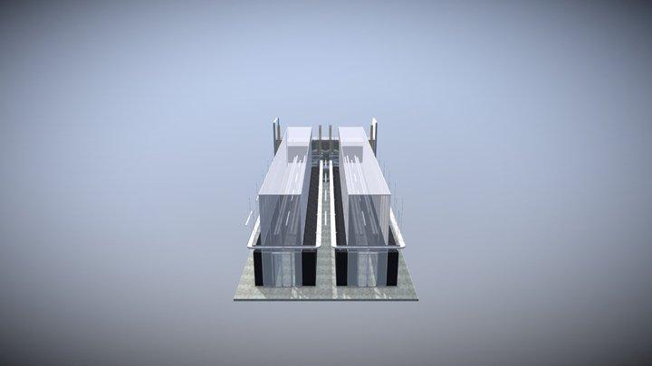 Aligned Energy Delta 3 Pod 3D Model