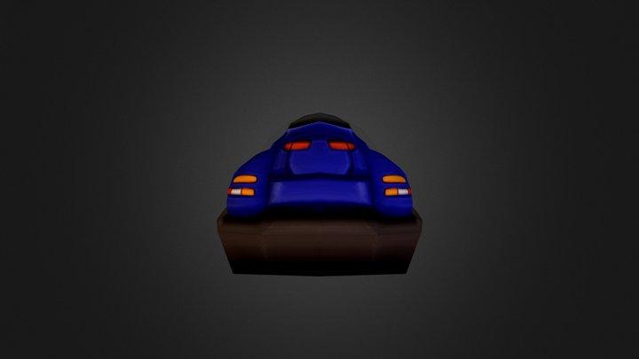 Hover- Car 3D Model