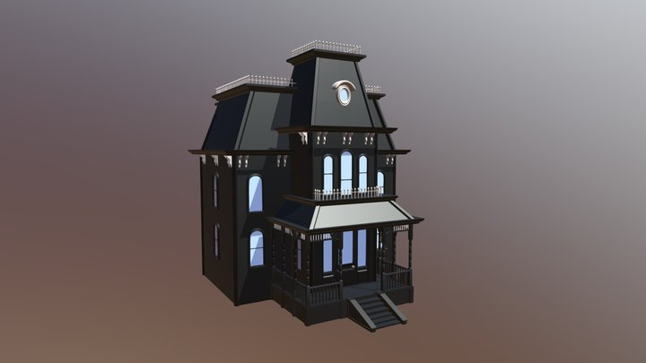 Bates House 3D Model